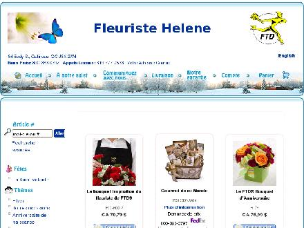 Florist Helene (819-777-7533) - Onglet de site Web - http://www.fleuristehelene.com