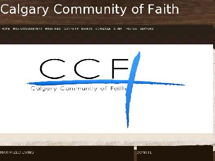 Calgary Community Of Faith Church (403-247-8148) - Onglet de site Web - http://www.westsidevictory.org