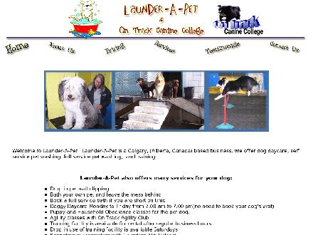 Launder-A-Pet (403-243-3519) - Website thumbnail - http://www.launder-a-pet.com
