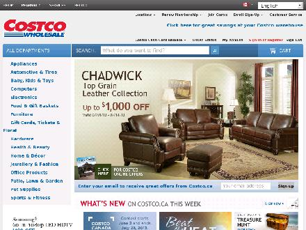 Costco Willingdon (604-296-5100) - Website thumbnail - http://www.costco.ca