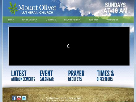 Mount Olivet Lutheran Church (780-467-5994) - Website thumbnail - http://www.mountolivet.ca