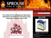 Sprouse Fire & Safety (403-265-3891) - Website thumbnail - http://www.sprouse-fire-safety.com