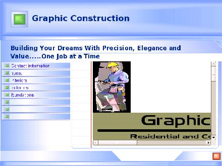Graphic Construction (204-226-0966) - Onglet de site Web - http://www.graphicconstruction.ca