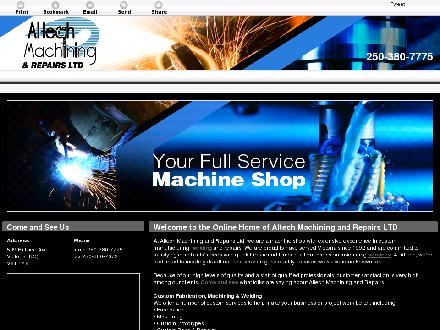 Altech Machining & Repairs Ltd (250-380-7775) - Website thumbnail - http://altechmachining.ca