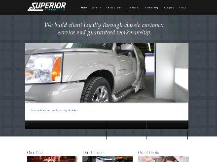 Superior Paint & Body Service Ltd (403-798-0941) - Website thumbnail - http://www.superiorpaint.com