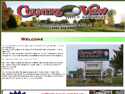 Country View Golf Course (519-354-9500) - Website thumbnail - http://www.countryviewgolfcourse.ca