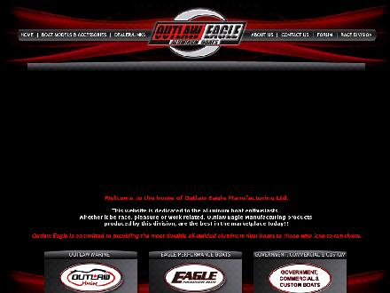 Burnt Lake Motor Sports Ltd (403-347-4565) - Onglet de site Web - http://www.outlaweagle.com