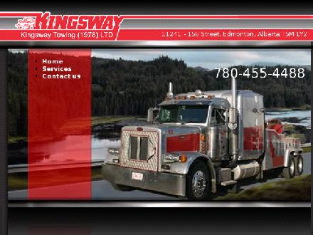 Kingsway Towing Group (780-412-1920) - Onglet de site Web - http://kingswaytowing.com/