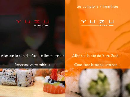 Yuzu sushi Chicoutimi (418-543-5522) - Onglet de site Web - http://www.yuzu.ca