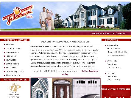 Yellowhead Home & Glass Ltd (780-826-6405) - Onglet de site Web - http://www.yellowheadglass.com