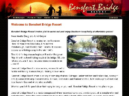 Bensfort Bridge Resort (705-939-6515) - Onglet de site Web - http://www.bensfortbridgeresort.com/