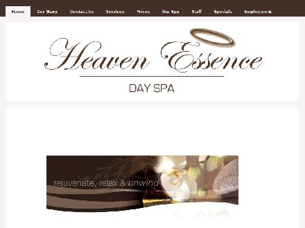 Heaven Essence Day Spa Ltd (780-460-0555) - Website thumbnail - http://www.heavenessencespa.ca