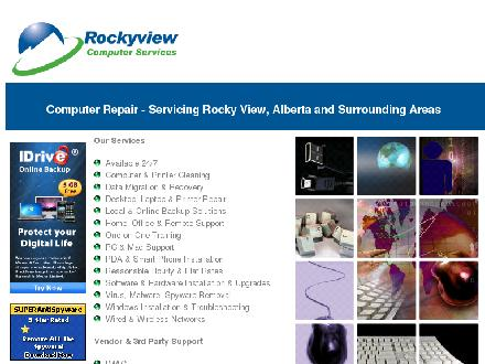 Rockyview Computer Services (403-701-4644) - Website thumbnail - http://www.rockyviewcomputerservices.com