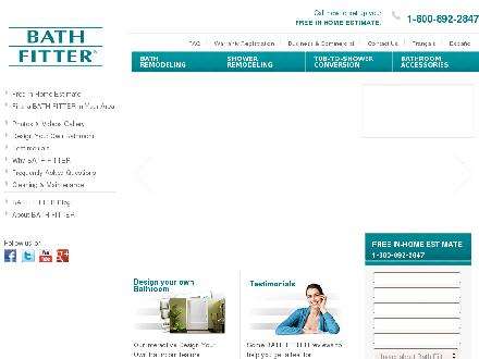 Bath Fitter (204-272-5410) - Onglet de site Web - http://www.bathfitter.com