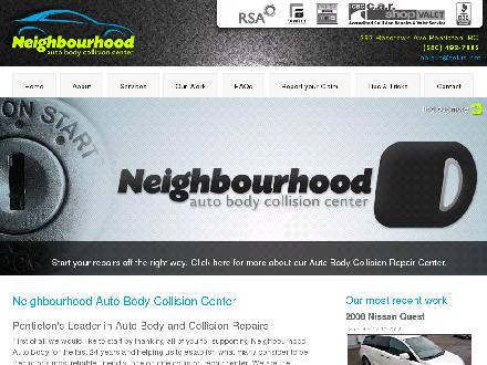 Neighbourhood Auto Body Ltd (250-487-2747) - Onglet de site Web - http://www.neighbourhoodauto.ca