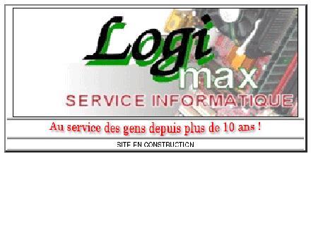 Logimax Service Informatique Inc (450-469-1661) - Onglet de site Web - http://www.logimax.qc.ca