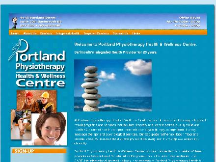 Portland Physiotherapy Health & Wellness Centre (902-469-2748) - Onglet de site Web - http://portlandcentre.ca