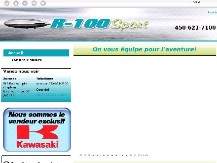 R-100 Sport Inc (450-621-7100) - Onglet de site Web - http://r-100sport.ca