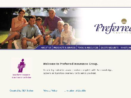 Preferred Insurance Group Limited (519-352-4400) - Onglet de site Web - http://www.preferred-ins.com