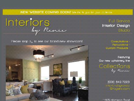 Interiors By Ren&eacute;e (506-849-7223) - Website thumbnail - http://www.interiorsbyrenee.ca