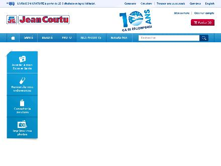 Jean Coutu - Onglet de site Web - http://www.jeancoutu.com