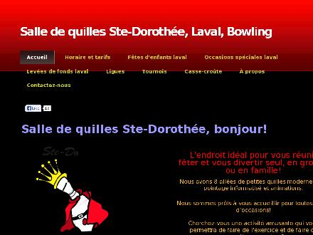 Salle De Quilles Ste Doroth&eacute;e (450-689-5334) - Website thumbnail - http://www.quillesstedorothee.com