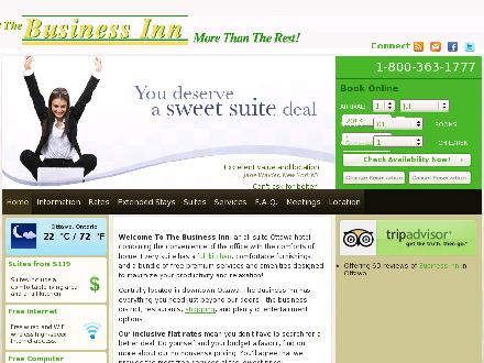 Business Inn (The) (613-232-1121) - Onglet de site Web - http://www.thebusinessinn.com