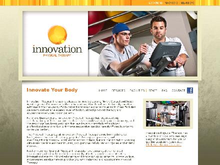 Innovation Physical Therapy Inc (780-401-9650) - Onglet de site Web - http://www.innovationphysio,com