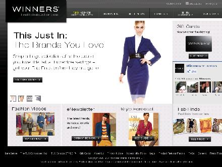 Winners Saint John (506-652-2209) - Onglet de site Web - http://www.winners.ca