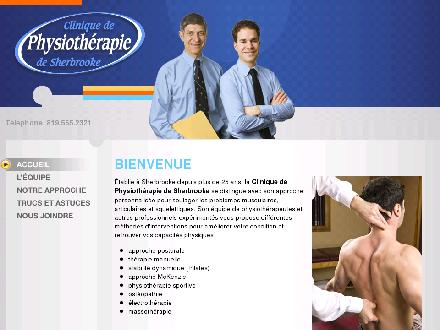 Clinique De Physioth&eacute;rapie De Sherbrooke (819-565-2321) - Website thumbnail - http://www.physiotherapiedesherbrooke.com