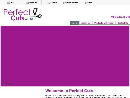 Perfect Cuts (780-444-8383) - Onglet de site Web - http://www.perfectcutsedmonton.com