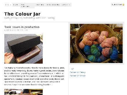 The Colour Jar (519-369-1283) - Website thumbnail - http://www.thecolourjar.ca