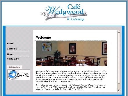Wedgwood Cafe &amp; Catering (709-726-1860) - Onglet de site Web - http://www.wedgwoodcafe.com
