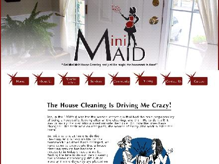 Mini Maid (604-522-9611) - Onglet de site Web - http://www.minimaidhousecleaning.ca
