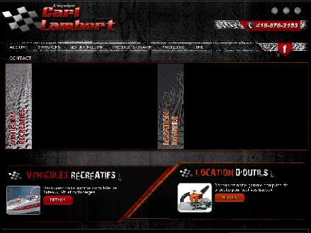 Carl Lambert Inc-Arctic Cat (418-878-2153) - Onglet de site Web - http://www.carllambert.ca