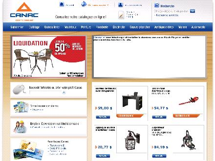 Canac (418-872-2874) - Onglet de site Web - http://www.canac.ca