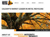 Calgary Metal Recycling Inc (403-727-0238) - Website thumbnail - http://www.calgarymetal.com