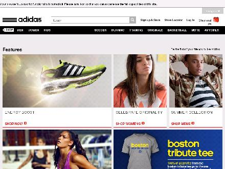 Adidas.ca - Onglet de site Web - http://www.adidas.ca