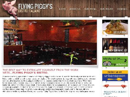 Flying Piggy's Bistro Italiano (613-526-4900) - Onglet de site Web - http://www.flyingpiggys.com