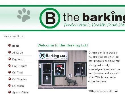 Barking Lot (506-459-4789) - Website thumbnail - http://www.thebarkinglot.ca