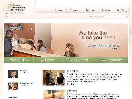 Searles Gordon Professional Corporation (780-424-4464) - Website thumbnail - http://www.drsearles.ca
