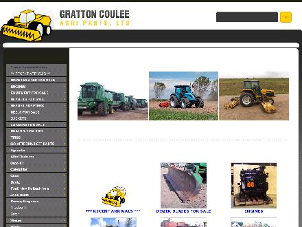Gratton Coulee Agri Parts Ltd (780-754-2303) - Website thumbnail - http://www.gcparts.com