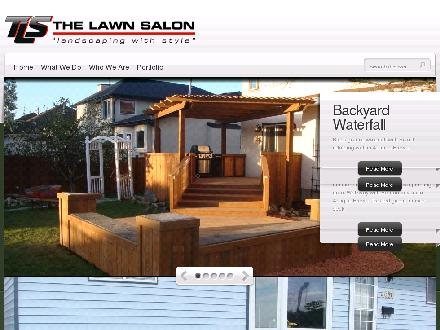 Lawn Salon The (204-255-7319) - Onglet de site Web - http://www.thelawnsalon.ca