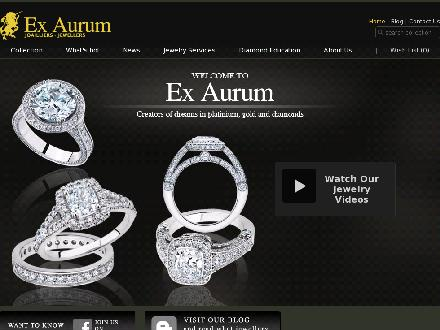 Ex-Aurum (514-874-1720) - Onglet de site Web - http://www.exaurum.com