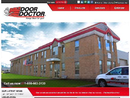 Door Doctor (613-634-3130) - Website thumbnail - http://www.doordoctor.com