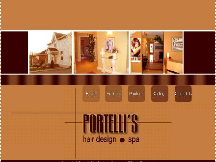 Portelli's Hair Design (905-450-7760) - Onglet de site Web - http://www.portellis.com