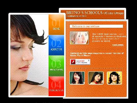 Bruno's Schools Of Hair Design (905-528-0428) - Onglet de site Web - http://www.brunoschools.com