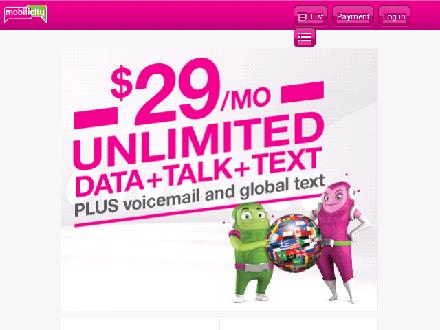 Mobilicity.ca - Onglet de site Web - http://www.mobilicity.ca