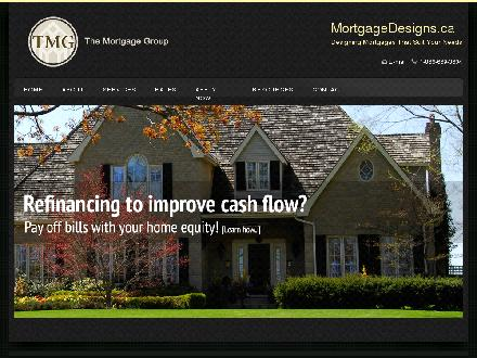 Kim Currie & Assoc-Mortgage Intelligence (905-333-0255) - Onglet de site Web - http://www.mortgagedesigns.ca