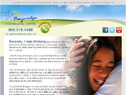 Bayridge Family Center (905-228-7770) - Website thumbnail - http://www.bayridgefamilycenter.com
